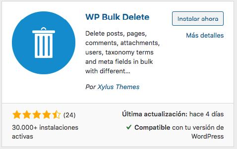 Como eliminar comentarios de wordpress MASIVAMENTE